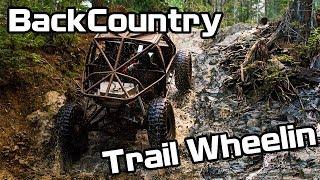 Backcountry trail wheelin Toyota and Suzuki Buggys offroading