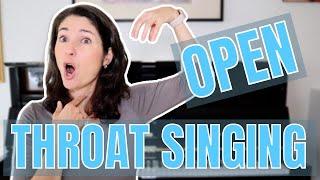 OPEN THROAT SINGING (2021)