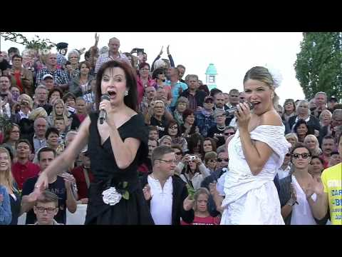 Baccara   Yes Sir, I Can Boogie ZDF Fernsehgarten   ZDF HD 2014 aug24   nawaf نواف