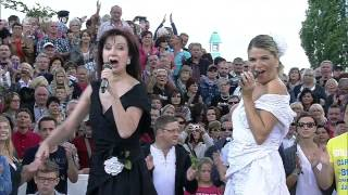 Скачать Baccara Yes Sir I Can Boogie ZDF Fernsehgarten ZDF HD 2014 Aug24 Nawaf نواف