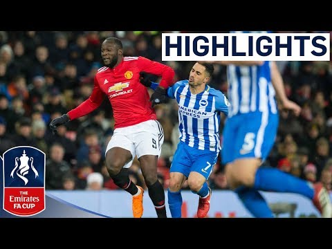 Lukaku and Matic put United in Semis | Manchester United 2-0