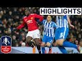Lukaku and Matic put United in Semis | Manchester United 2-0 Brighton | Emirates FA Cup 2017/18