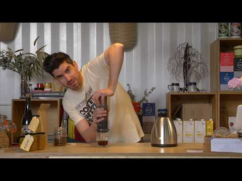 How to use an Aeropress - With One Bean