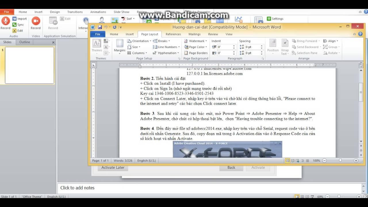 Hướng dẫn sử dụng Adobe presenter
