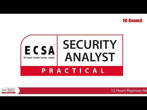 EC-Council Certified Security Analyst (Practical)   ECSA (Practical)