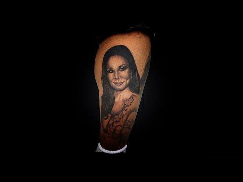 ALEX DZURKO - /Kendra Lust tattoo/ KONTRAST-BARBER AND TATTOO