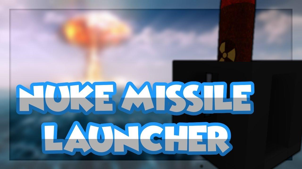 Roblox Script Showcase Episode#899/Nuke Missile Launcher
