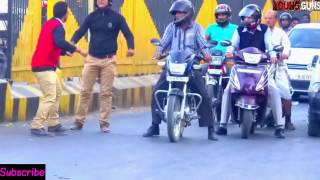 On Road Traffic Prank 2017|Prank in India| Prank in Ajmer|Nirmal Sahwal feat. Dinesh khandelwal