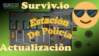 Nueva Actualizacion Estación de Policía surviv.io 11/04/2018 modo squad