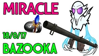 Miracle- Dota 2 : Ancient Apparition - [Middle] BAZOOKA @18/0/17