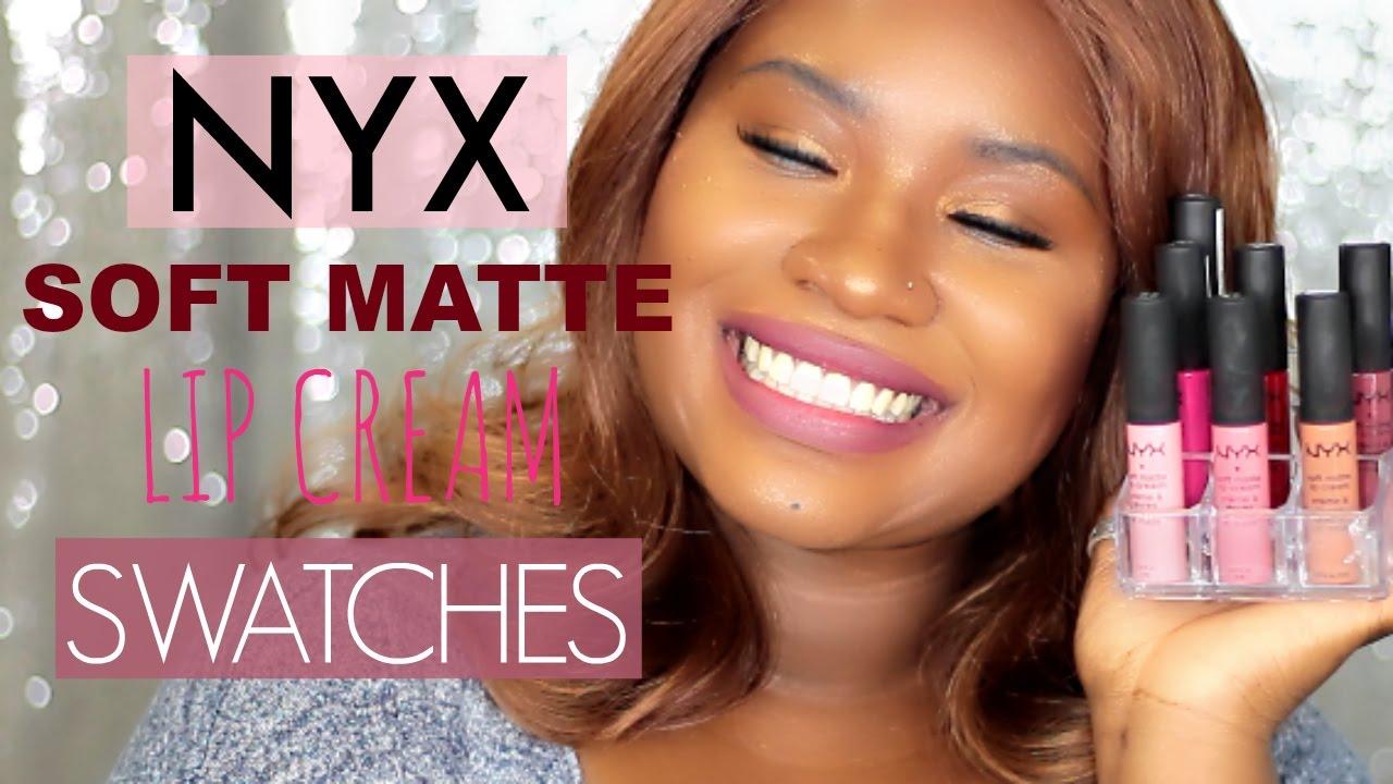 NYX Liquid Suede Lipsticks on Dark Skin # ...  Nyx Matte Lipstick Sierra Dark Skin