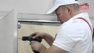 Инструкция по монтажу люков под плитку Алюклик Revizor. Обучающий ролик.