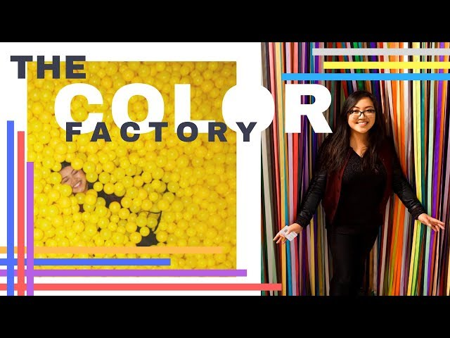 The Color Factory Vlog