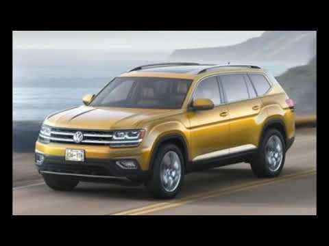 2018 Volkswagen Atlas V-6 4MOTION VW's latest SUV