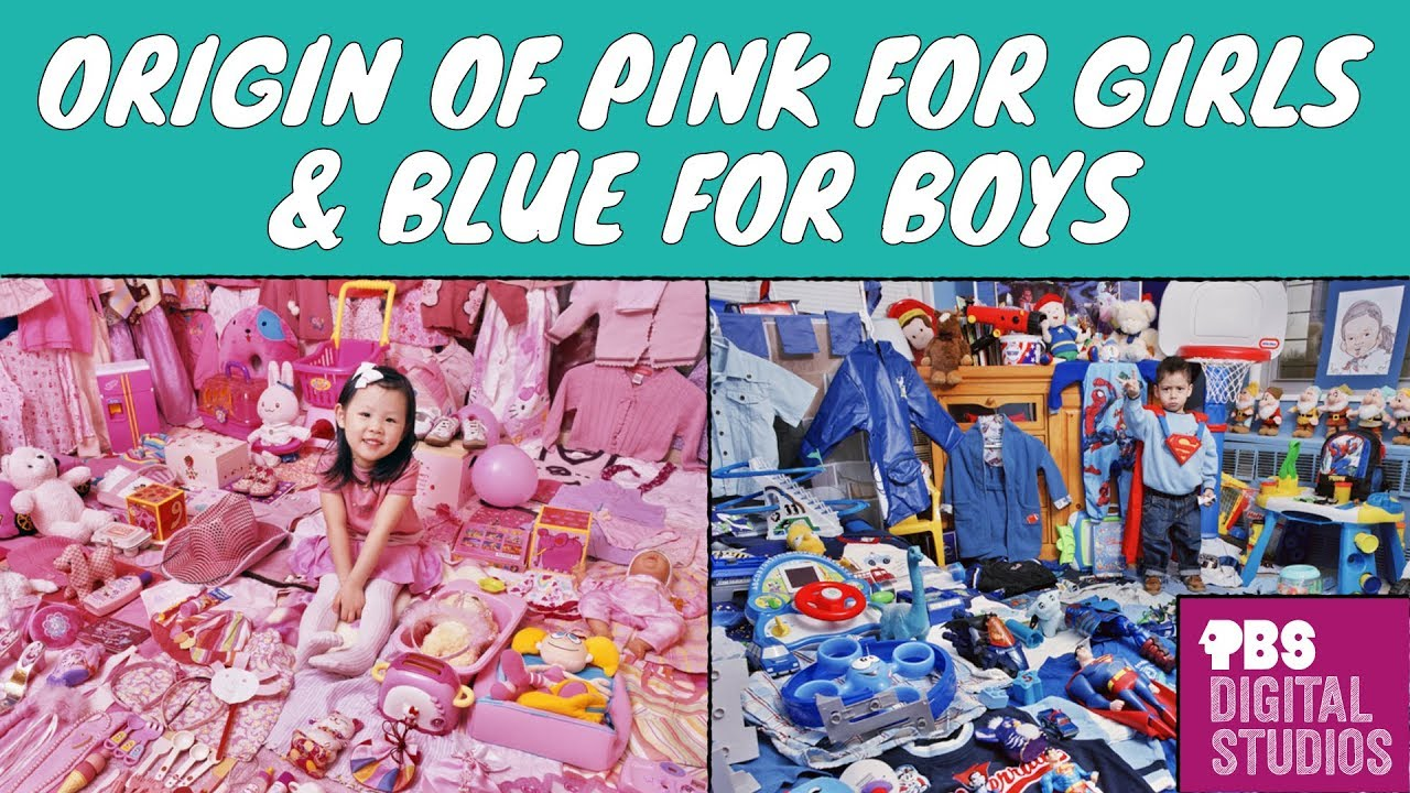 7149a5a0da61 Why was Pink for Boys and Blue for Girls  - YouTube