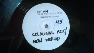 Criminal Act - New World
