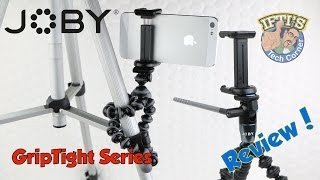 Joby GRIPTIGHT Series - Mount your iPhone/Android onto a GorillaPod in seconds! - REVIEW