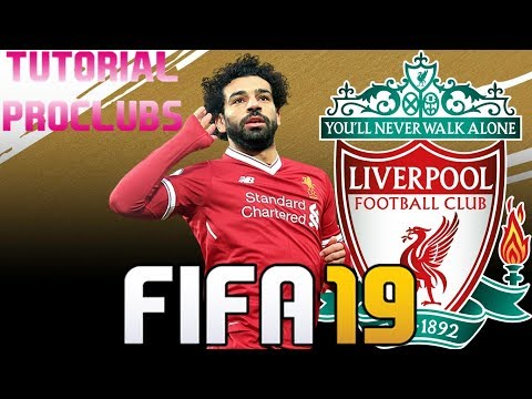 FIFA 19 - TUTORIAL FACE I Mohamed Salah (Liverpool FC) [Pro Clubs]