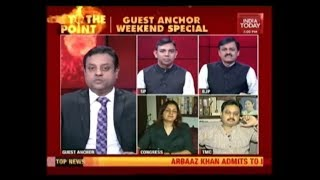 Sambit Patra On India Today Anchor Seat  | Is The United Opposition A Real Challenge To Modi ?