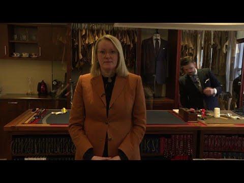 International Women's Day: Portrait of a tailor in London