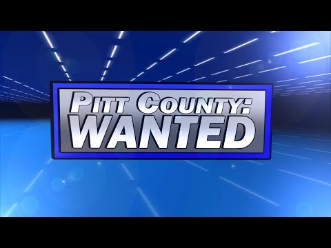 Pitt County: WANTED for 8/25/2017