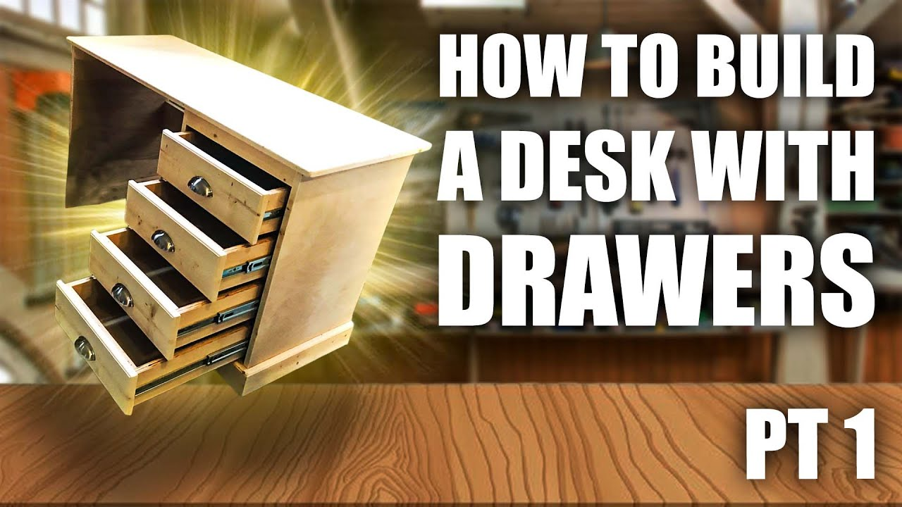 How to Build a Desk With Drawers (DIY) (Part 44 of 44)