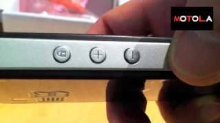 Desempaquetado telefono movil para mayores SeniorPhone V12
