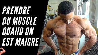 6 ASTUCES pour prendre du MUSCLE quand on est MAIGRE !