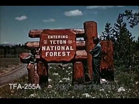Wonderful Wyoming 1951 ✪ Retro Documentary Films HD