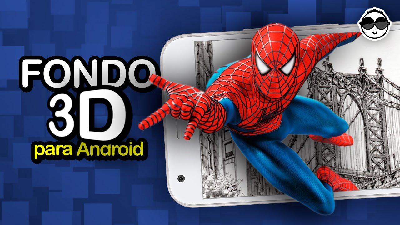 Pantalla 3d Para Cualquier TelÉfono Android: PANTALLA 3D EN CUALQUIER ANDROID 2017!