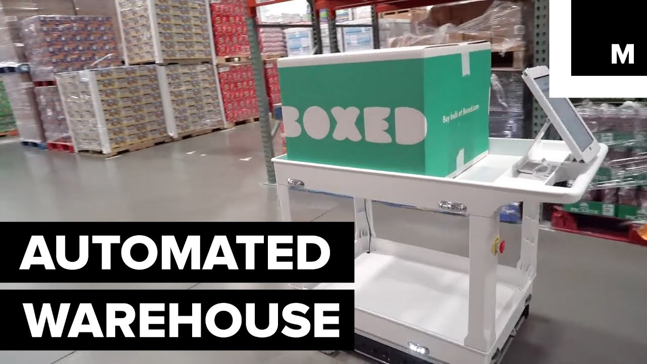 Automated warehouse