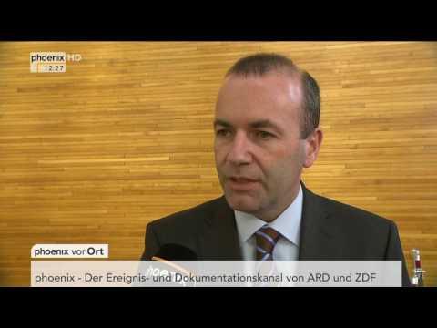 Regierungsbildung in Großbritannien: Interview mit Manfred Weber am 13.06.17