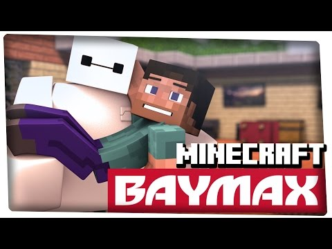 Baymax in Minecraft (3D Animation) - 60fps - Поисковик музыки mp3real.ru