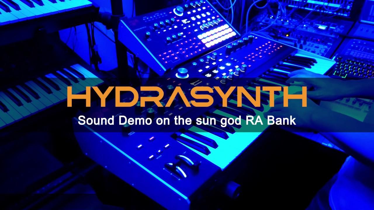 Hydrasynth Sound Demo on 'the sun god RA' Bank