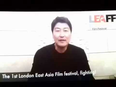 Song Kang Ho Introducing The 1st London East Asia Film Festival 2016