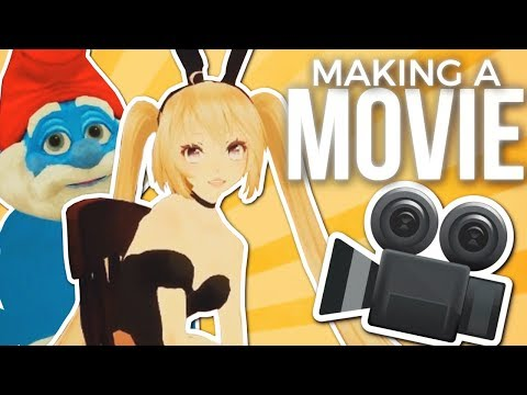 Pokelawls - MAKING A MOVIE (VRChat Highlights)