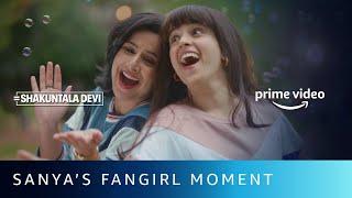 Gambar cover Fangirl Moment | Shakuntala Devi | Vidya Balan, Sanya Malhotra | Amazon Prime Video