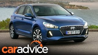 2017 Hyundai i30 review CarAdvice смотреть