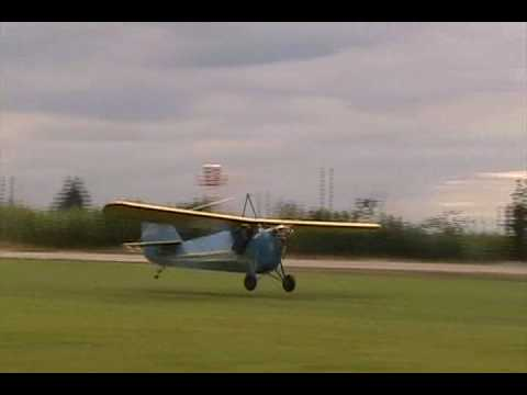 "Flight of the Aeronca C3 ""Bathtub"""