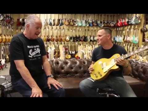 Guy King playing Gangsta of Love on our 1955 Gibson Les Paul Goldtop