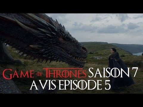 Game of Thrones saison 7 : avis épisode 5