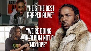Celebrities Talk About Kendrick Lamar (J. Cole, Vince Staples, Mac Miller, ScHoolboy Q & more)