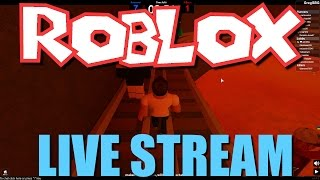 Lets Play Some Roblox! - Live Stream 12/18/16
