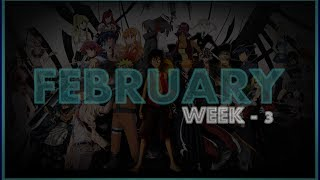 ► Top 20 | Anime Opening Charts | Week - 3 | Month (FEBRUARY) | (HD)