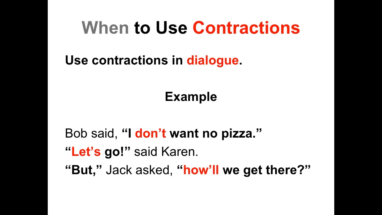 hight resolution of Contractions Worksheets and Activities   Ereading Worksheets