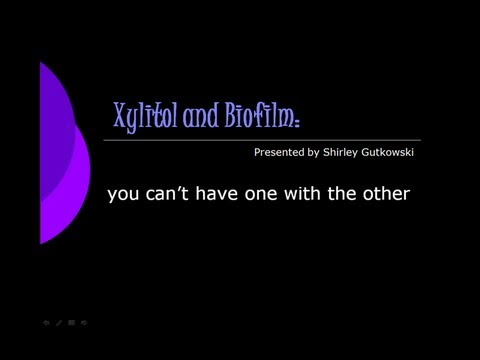 Xylitol and Biofilm: Can