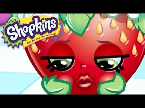SHOPKINS - HAPPY BIRTHDAY STRAWBERRY KISS | Cartoons For Kids | Toys For Kids | Shopkins Cartoon