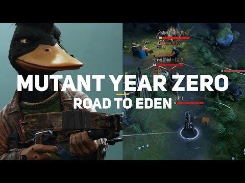 XCOM с утками и кабанами! Mutant Year Zero: Road to Eden. Первый взгляд