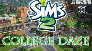 """The Sims 2: College Daze-Episode 1 """"It"""