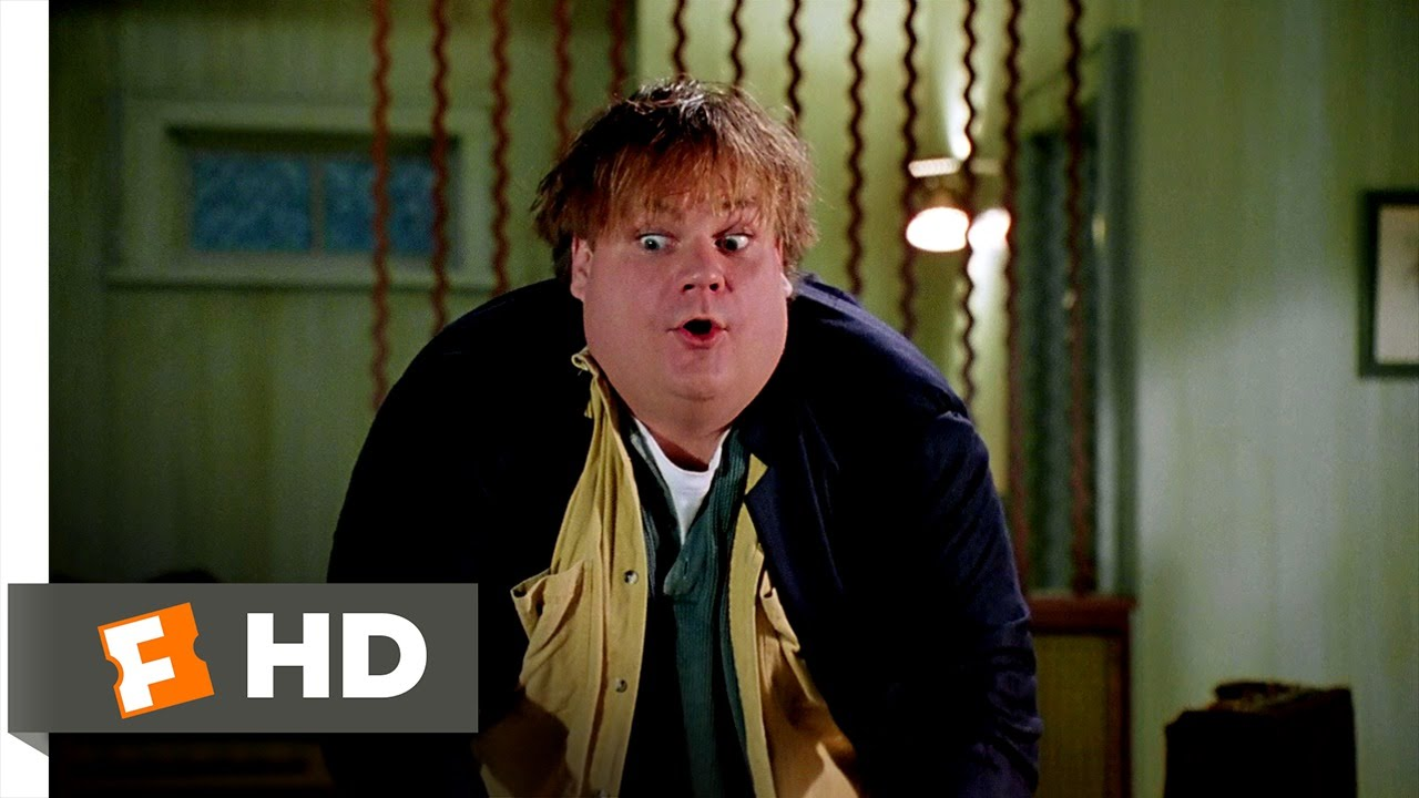 Hey Big Guy Ok So Youre Faster And >> Tommy Boy 5 10 Movie Clip Fat Guy In A Little Coat 1995 Hd